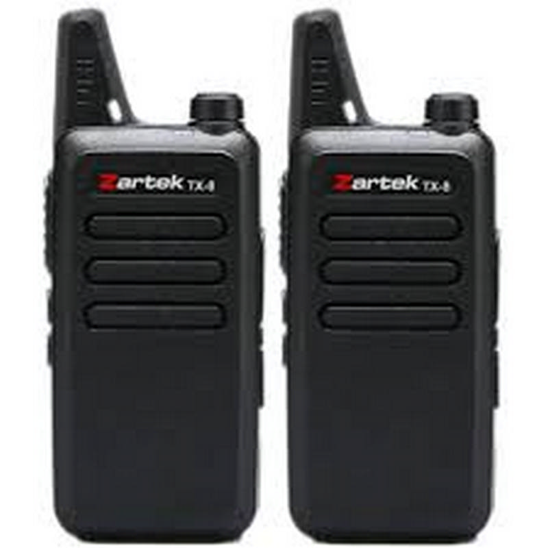 Zartek Two-Way Radio Twinpack TX-8