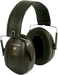 H515FB-GN Bulls Eye Ear Muff Green